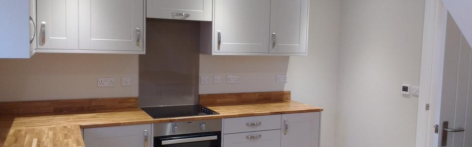 Kitchen, Oak worktops