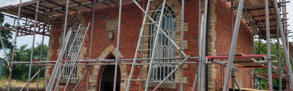 Methodist church near Oswestry