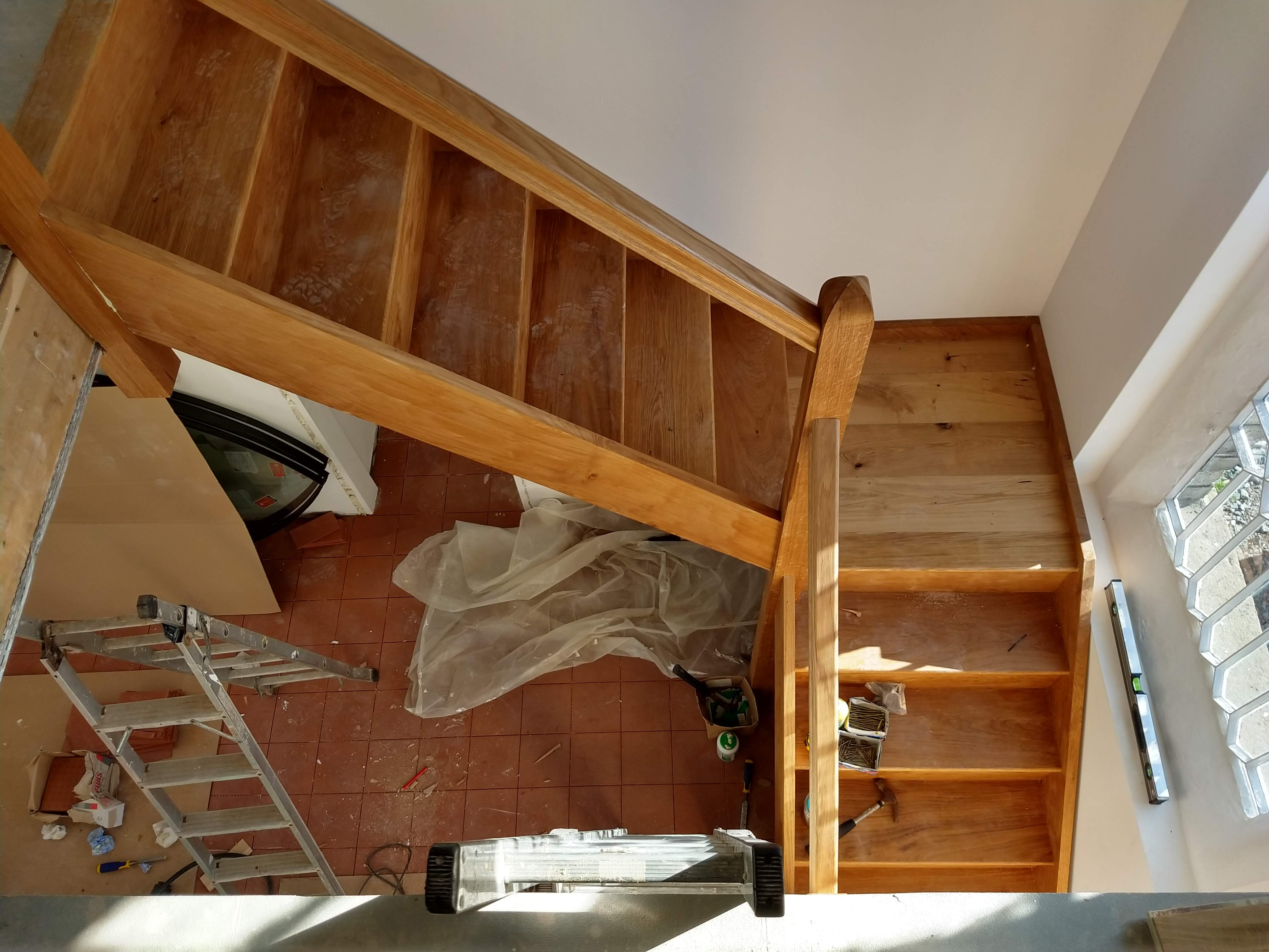 Bespoke staircase fitting 4