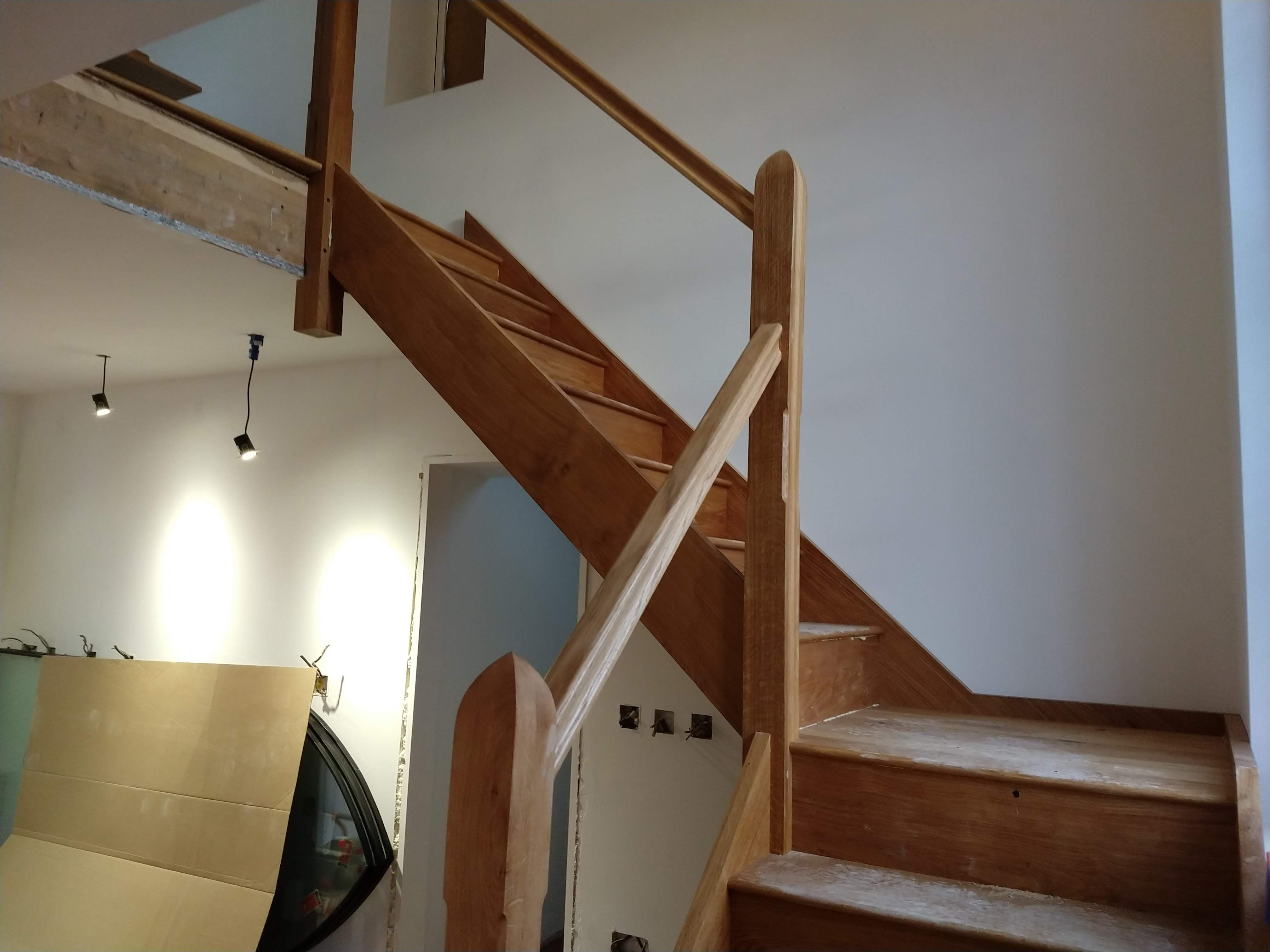Bespoke staircase fitting 3