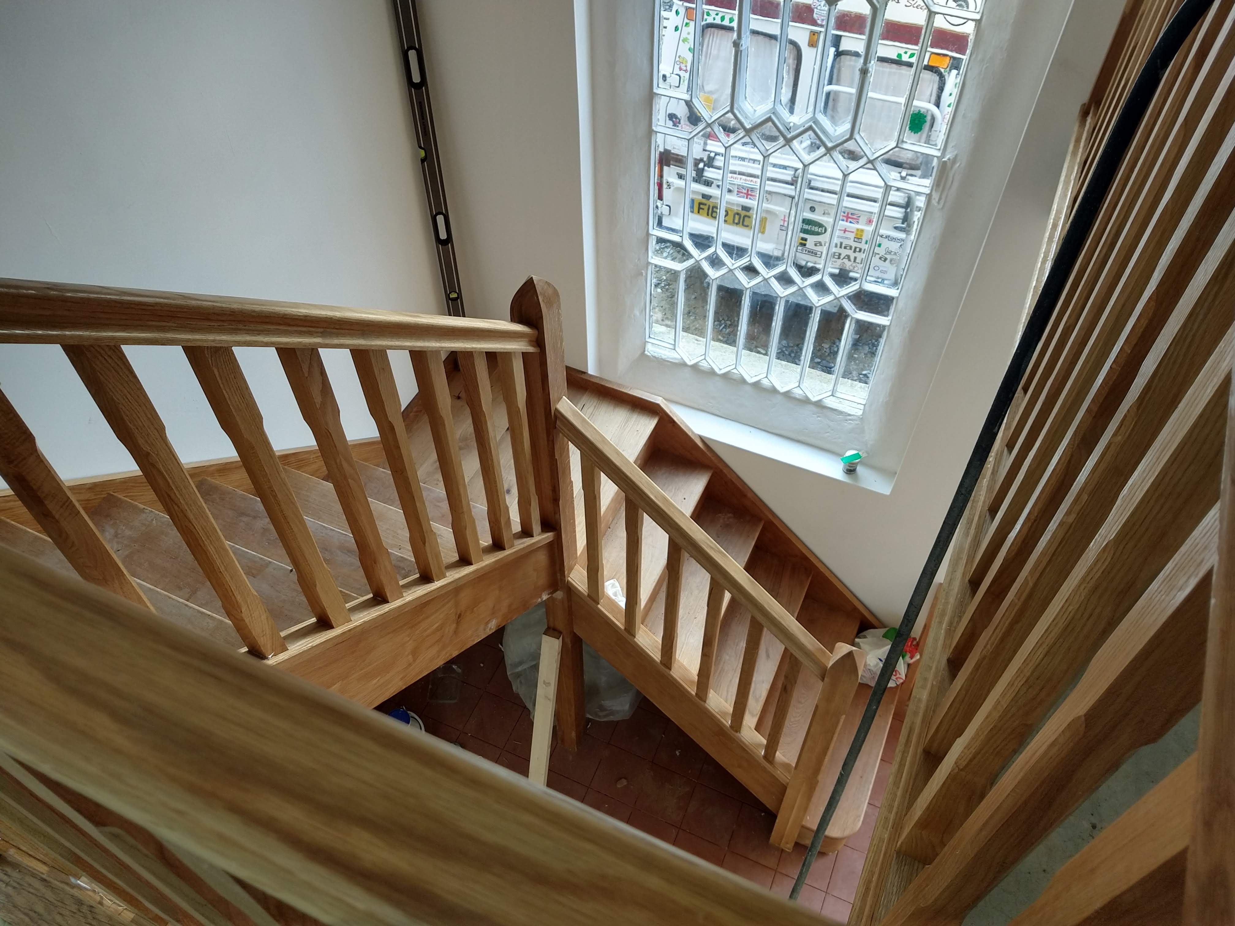 Bespoke staircase fitting