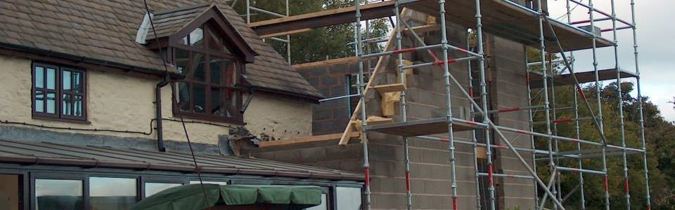 Steel Roof Beams Lifted in to place