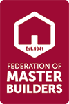 Member of Federation of Master Builders